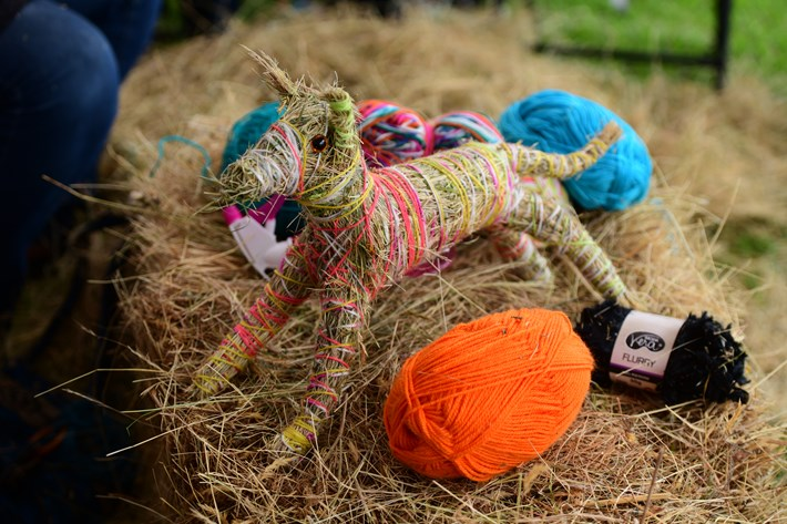 Animal made from yarn